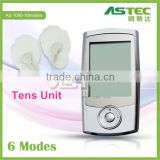 2016 new portable tens unit ems therapy estim muscle stimulator machine
