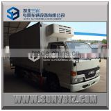 JMC 4X2 2000kg insulated refeer truck