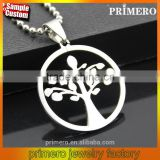 High Quality Brazil Hot Sale Stainless Steel Fashion Jewelry Tree Of Life Pendant Necklaces
