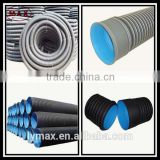 The Interior Dimension 100mm Underground Electricity Wires Protect Flexible HDPE Corrugated Pipe