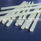 hot melt adhesive,EVA hot melt glue stick,transparent and white, light yellow hot melt glue stick
