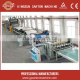 Corrugated cardboard production line carton box single face double face corrugating machine
