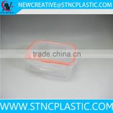 small plastic food container rectangular with lid 250ml                                                                                                         Supplier's Choice