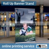 Custom PVC Printed Type Display Banner Standing Banner Advertising Roll Up Banner                                                                         Quality Choice                                                     Most Popular