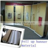 140gsm bright white Digital printing banner material polyester fabric                                                                         Quality Choice