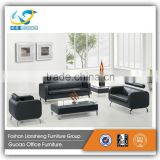 Modern Italian Cheers Leather Sofa Model Office Furniture S719