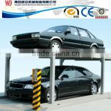 parking in pit for 4 cars hydraulic car lift parking system