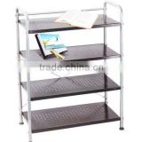 Hot sale stainless steel kitchen shelf rack manufacturer rattan cooler box