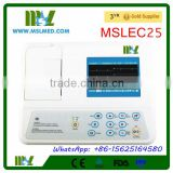 MSLEC25-4 High Quality 3 Channel Veterinary ECG Machine/ECG Machine for Pets