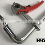 FECOM square tube clamp manufacturing construction building f clamp GH series