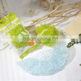 Wholesale bath set colorful soft bath spong ,shower cap , cartoon bath balll , mesh shower wash sponge for promotiona