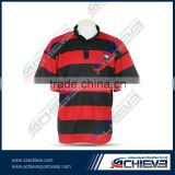 Manufacturing rugby jerseys with tartan plaid polo shirts                                                                         Quality Choice