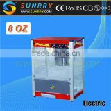CE certificated 8 Oz commercial china hot air popcorn machine
