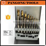 Household & Industry Tool Kit Tap and Drill Set for Creating Internal Screw Threads 18 Pieces