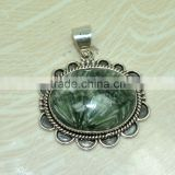 925 sterling silver jewelry wholeseller in India Seraphinite Designer pendant Jewelry Made In Jaipur