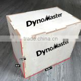 All-In-One Wood Plyo Box Plyo box gym equipment wooden jump plyometric box plyometric jump boxes