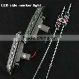 Carbon Trim LED Side marker Turn ligth signal For BMW LED Light LED Side Marker Turn Signal Lights For E39