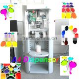 A2,A4 0.077ml automatic paint color tinter machine/600ML colorant sequential dispenser