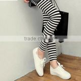 black and white stripes fashion hotsell sexy lady tube tights
