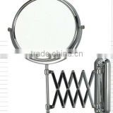 wall mounted hairdressing mirror,magnifier mirror,bathroom vanity mirror