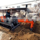New brand mini hydraulic type ATV backhoe excavator
