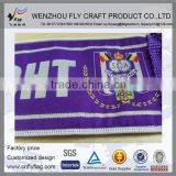 promotional sport acrylic knitted Advertisement scarf