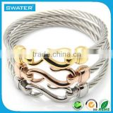Alibaba Hot Products Wire Gold Silver Rose Gold Bracelets