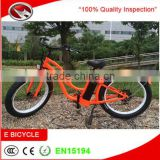 Two wheel bright color mountain bikes, low price big power Hummer electric bicycle for girls for sale