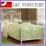 slat bed base - mattress support frame -- metal bed