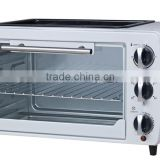 20L high quality and best price breakfast and bread maker toaster oven electric oven with BBQ function with CB/CE