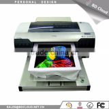 personalized dtg textiles fabric printer a2 digital flatbed t shirt printer dtg printer with 3d effect