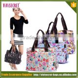 Promotional new design fashion cloth baby diaper bag for mommy