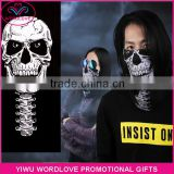 Fashionable Custom Multifunctional Tubular Headwear Bandana Sports Skull Face Mask