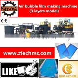 3 layers model air bubble film machine for making swimming pool solar cover