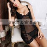 Accept paypal 2014 new fashion short style sleeping dress hot sexy babydoll nighties