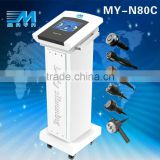 Skin Tightening MY-N80C 2015 Best 6 In 1 Cavitation Rf Ultrasonic Vacuum CE Fitness Equipment / Multi-Function Weight Loss Beauty Equipment Face Lifting  Skin Care