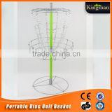 2015 newest professional disc golf cheap wholesale baskets supplier with best quality