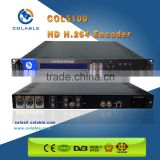 1 channel analog CVBS/AV to ip out h.264 encoder COL5100