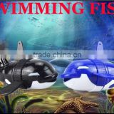 2014 New Toy Robot Fish Plastic Swimming Fish Toys Battery Control Toy