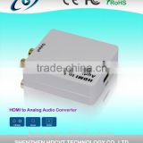 2015 Newest hdmi audio extractor digital to analog converter