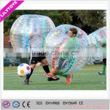 2016 Lily Toys football bubble ball, inflatable adult bumper ball, human sized hamster ball for sale