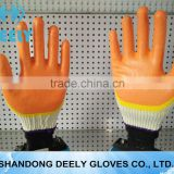 Manufactures direct Latex gloves wholesale/red black double color working latex glove/super soft latex for glove