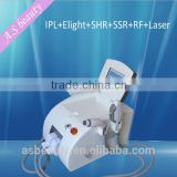 IPL+Elight +SHR+SSR+RF+LASER 6 in 1 multifunction Laser Hair Removal Machine Portable SHR Elight