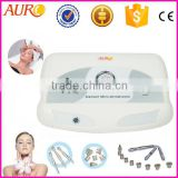 AU-3012 Popular Top Sell Professinal Microdermabrasion Beauty Salon Machine with 9 diamond tip and 3 wands with CE approved