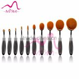 High Quality 1set 7 pcs Professional Synthetic Hair Cosmetic Makeup Brush blush Brushes Set