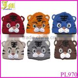 Spring Autumn Winter Baby Girls Boys Kids Toddler Crochet Knit Cute Tiger Hat Child Cap Beanie Bonnet
