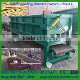 wood log debarker for sale drum debarking machine