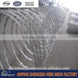 military concertina razor barbed wire for fencing hot sales