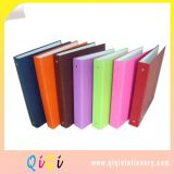 colored paper cardboard ring binder