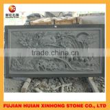 Pale green sandstone relief wall sculpture for sale